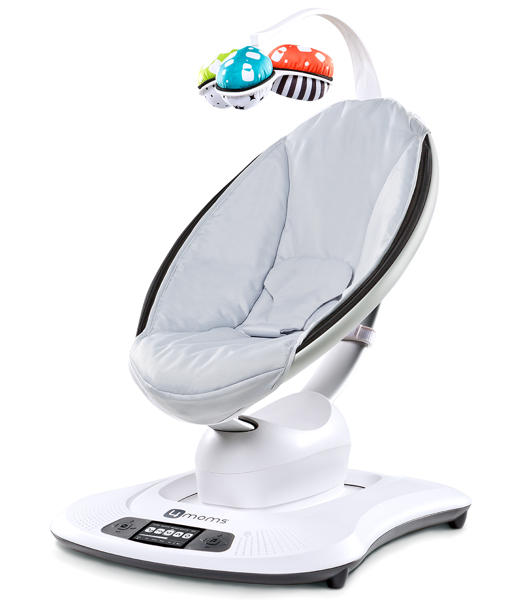 Кресло-качалка 4MOMS MAMAROO 3.0 СЕРЕБРИСТЫЙ